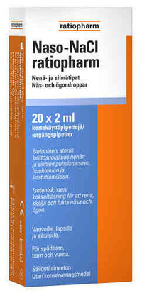 NASO NACL RATIOPHARM 20X2ML