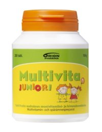 MULTIVITA JUNIORI PURUTABL 200