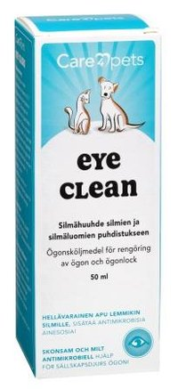 Care4pets EYE CLEAN silmähuuhde 50 ml - Apteekkiostos.fi