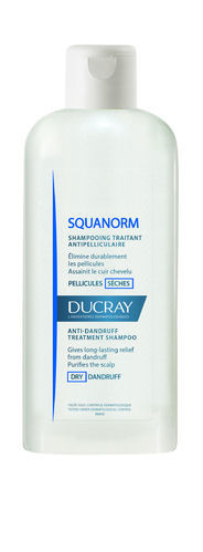 Ducray Squanorm DRY shampoo 200 ml