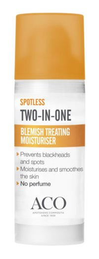 ACO SPOTLESS BLEMISH TREATING MOISTURISER 50 ML