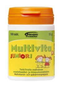 Multivita Juniori purutabl 100 kpl
