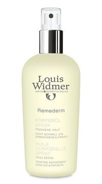 WIDMER+ REMEDERM BODY OIL SPRAY 150 ML