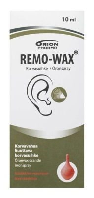 REMO-WAX EAR SPRAY + PUMP 10 ML