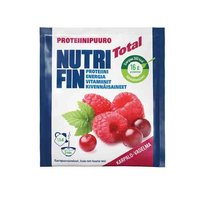 NUTRIFIN TOTAL PROT.PUURO KARPALO-VADELMA 10x67 g