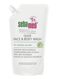 SEBAMED OLIVE FACE & BODY WASH 1000 ML