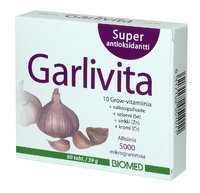 GARLIVITA SUPERANTIOKSIDANTTI 60 TABL
