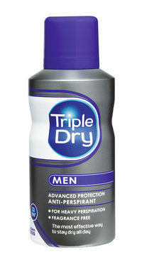 TRIPLE DRY SPRAY FOR MEN ANTIPERSPIRANTTI 150 ML