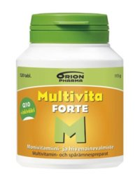 Multivita Forte Monivitamiini 120 kpl