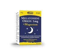 MELATONIINI ORION + MAGNESIUM 30 TABL
