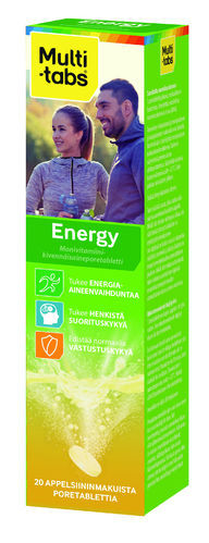 MULTI-TABS ENERGY 20 KPL