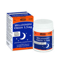 MELATONIINI ORION 1,5 MG 30 kpl