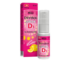 DEVISOL SPRAY 20 MIKROG/ANNOS 20 ML