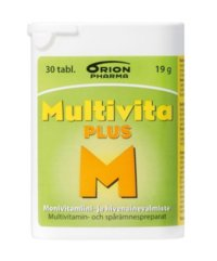 MULTIVITA PLUS MONIVITAMIINI 30 TABL